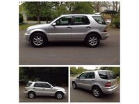 2003 MERCEDES-BENZ AUTOMATIC M CLASS ML 320 4WD SUV JEEP FULLY LOADED*LEATHER*SERVICE HISTORY*MOT/X5