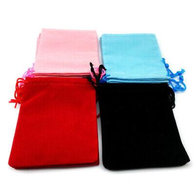 Cloth Bags Wholesale (50 Pieces Wholesale Lot Velvet Cloth Jewelry Pouches Drawstring Bags)