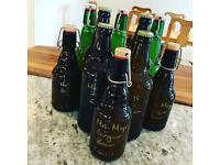 Home Brewed Ginger Beer for swap
