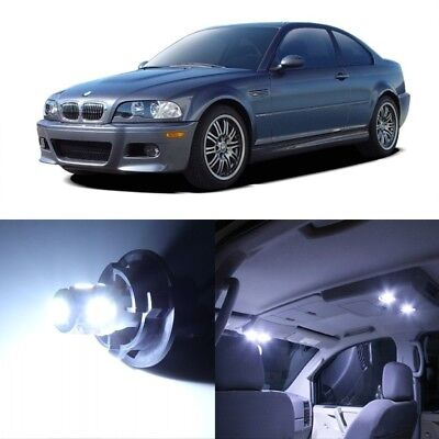 16 x White LED Interior Light Package For 1999 - 2005 BMW 3 Series M3 E46 + TOOL