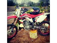 Honda Cr450f Road Legal