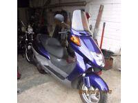 honda fes 250 cc scooter