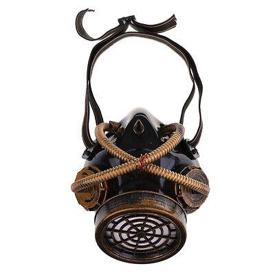 Maske Steampunk Kopfmaske Kostüm Zubehör für Erwachsene Halloween - Punk Kostüm Zubehör