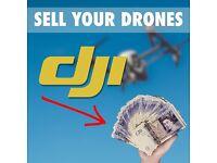 SELL YOUR DJI DRONES (Phantom4, P4A,P4P,Inspire1,2)