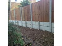 GARDEN FENCE FITTING/REPAIR and DECKING