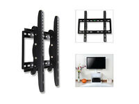 """Universal Slim TV Wall Mount with Tilt for Television 26 – 55"""""""