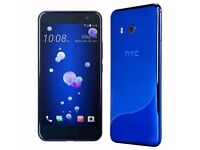 HTC U11 DUAL SIM FREE UNLOCK SMARTPHONE 128GB HDD 6GB RAM NEW SEAL PACK UNOPENED BOX