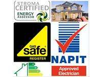 Gas Safety Certificates (CP12 )-£30 EPC-£45 Electrical Cert (EICR)-£95 PAT Test-£45