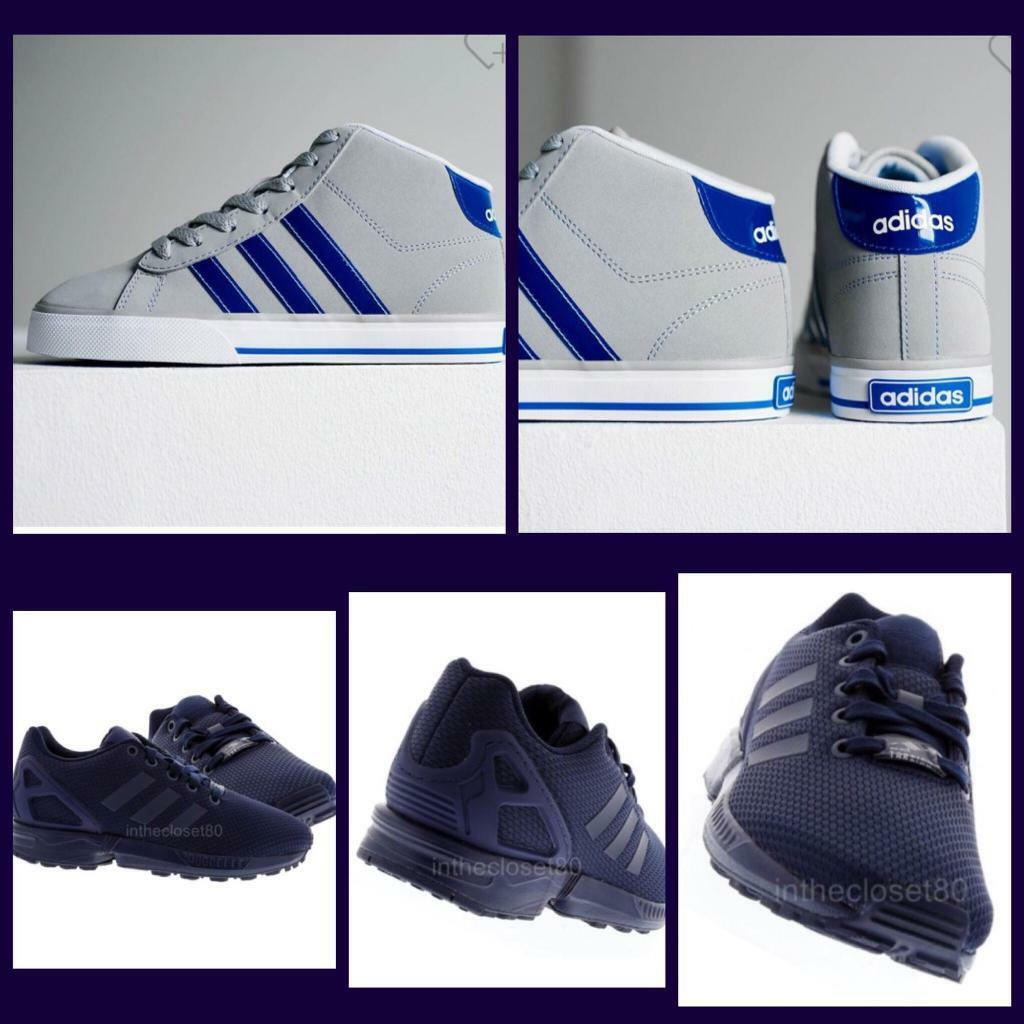 c4b93bfa8b4 Boys Adidas trainers x2 pairs size 2
