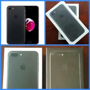 Brand New Sealed iPhone 7 32GB ($750) 128GB ($850)! Full Apple Warrnty! Rogers/Fido/Chat-r/Mobilicity***WE SELL GENUINE/