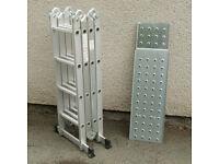 Aluminium Step Platform Multi Ladders