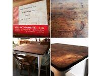 Retro/Vintage Rustic Table
