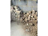 Free bricks and rubble (collection only)
