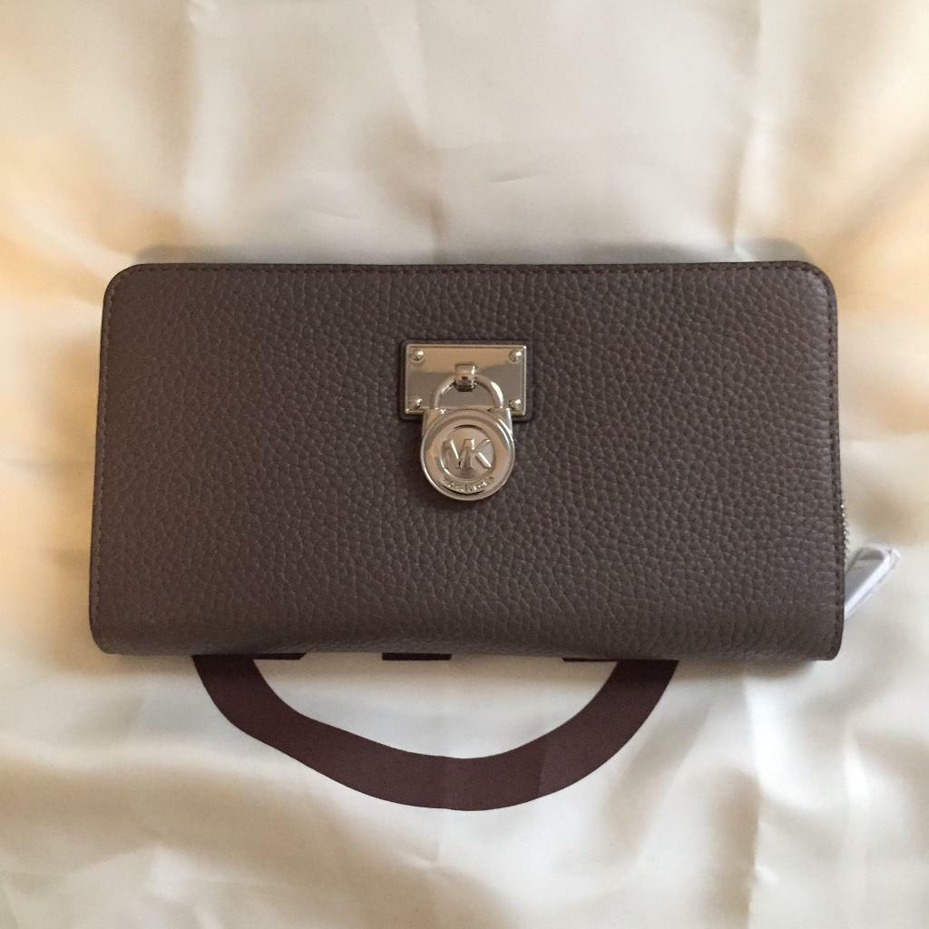 New Michael Kors Large Leather Purse