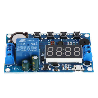 Trigger Cycle Timer Delay Switch 12v 24v Relay Switch Module 24h Timing Control