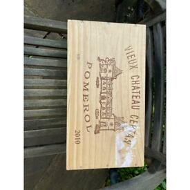 Recycled Wooden Wine Boxes