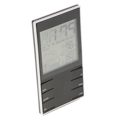 Weather Station With Temperature Humidity Monitor Alarm Clock Outdoor Indoor