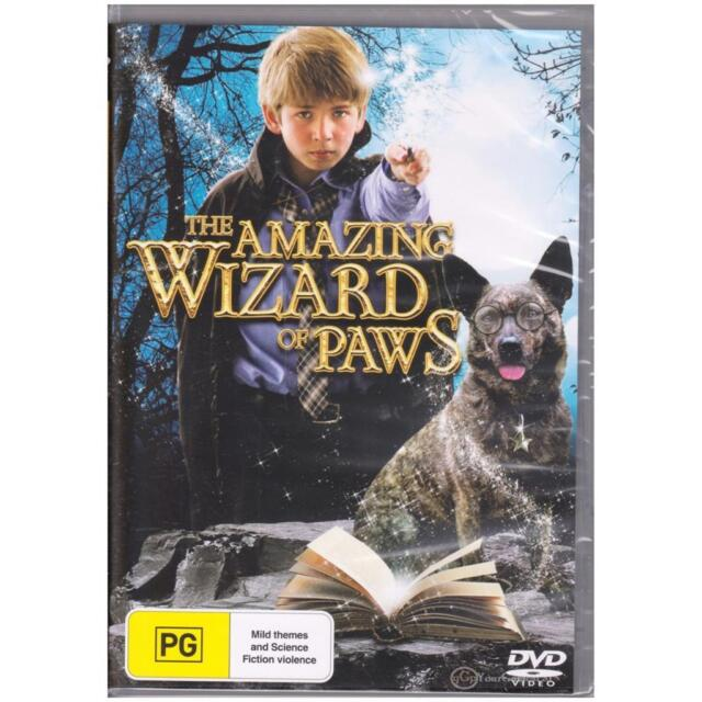 DVD AMAZING WIZARD OF PAWS Will Spencer Family Adventure Fantasy PG R4 [BNS]