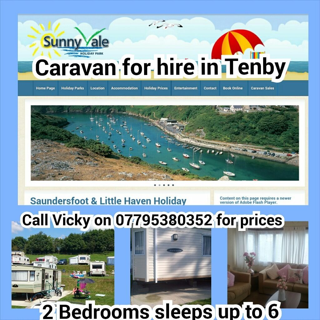 Luxury Caravan Hire For Des Jan Contact For Price