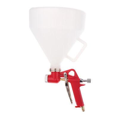 Air Hopper Texture Spray Gun Painting Sprayer 4.0 6.0 8.0mm 3 Nozzle New