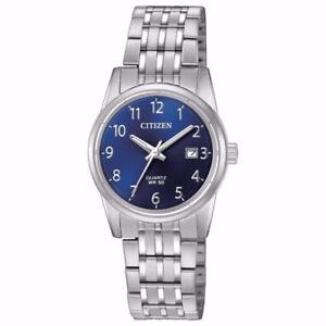 New Citizen Womens Dress Stainless Steel Bracelet Watch EU6000-57L