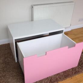 Childs toy box and desk ( stuva ikea)