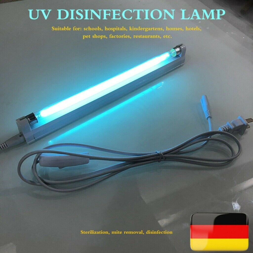 E14 GU UVC LED Sterilisator Lampe Home Room Germizide Desinfektion Licht Birne