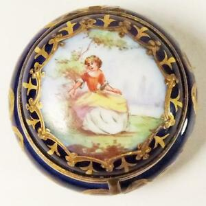 Z Marine Sevres ANTIQUE FRENCH PORCELA...