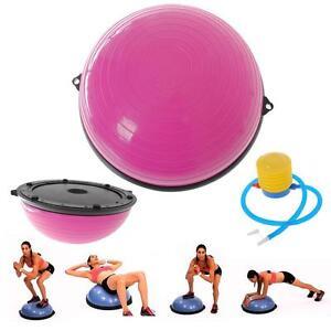 Bosu Balance Ball Yoga Gym Exercise Fitness Core Resistance Pilat