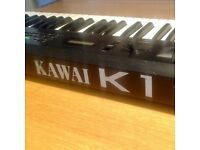 Vintage Kawai K1 Digital Synthesiser Keyboard Joystick late-80s Made in Japan