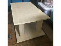 Wooden Coffee Table light beach/side table/tv stand/livingroom table
