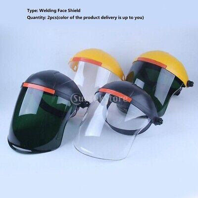2pcs Professional Welding Face Shield Guard Anti-splash Protect Logging