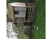 Climbing Frame / playhouse / Fort