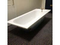Iron bath, 170cm-69cm, used but in good condition