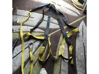 Two climbing or safety harness