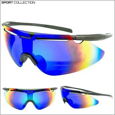 Deporte Envoltura Ciclismo Equitación Gafas de Sol Protector Gafas Ligero Marco