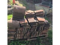 Reclaimed Tucker roof tiles and ridges