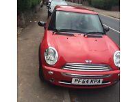 Mini 1 for sale red in colour