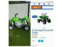 6v renegade quad bike