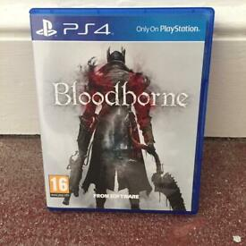 Blood borne PS4 game