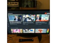 32 inch LED full HD Smart JVC tv built in Wi-Fi plus HDMI and USB comes with a remote free delivery