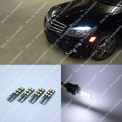 4x White LED Error Free Eyebrow Eyelid Light Bulb F Mercedes Benz W204 C300 C350
