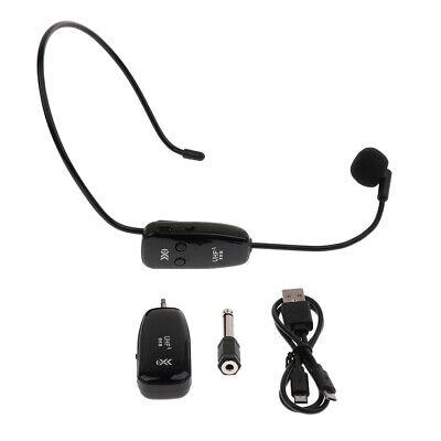 Ein Satz  Wireless Headset Mikrofon USB Headworn Mic für Outdoor Ein Wireless-usb