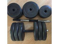Barbell ->4*1,25kg 8x2,5kg 4x1kg