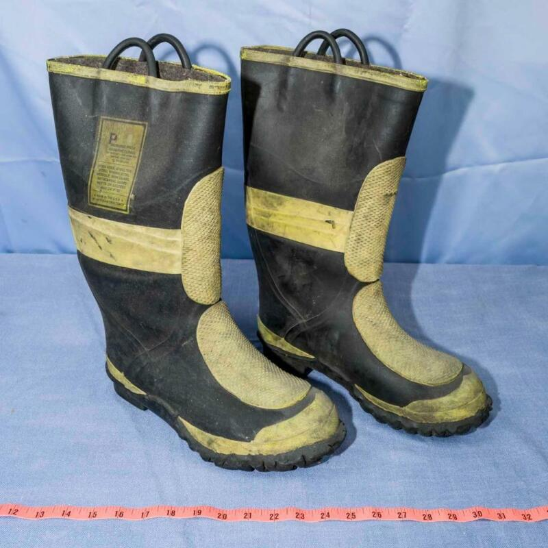 USA Morning Pride Steel Toe Fire Boots Men