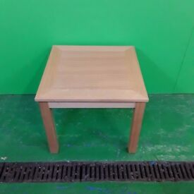 Oak Style Small Square Table