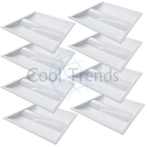 8 packages of Led Troffer, 35W, 5000K, 2x2 (603x603x76mm), AC100-277V