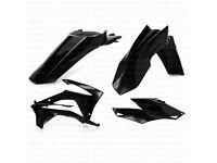 New Acerbis Plastic Kit CRF 250 R 14-15 CRF 450 13-15 Black Motocross Plastics
