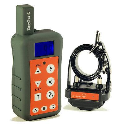 1200Meter 3-in-1 Easypet 100% Waterproof Rechargeable Remote Dog Training Collar