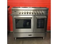 Britannia range dual fuel gas cooker RC-9TG-QL-S S/S FSD EX-DISPLAY double oven free local delivery